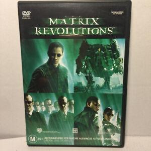 The Matrix Revolutions  (DVD, 2003) Region 4 PAL
