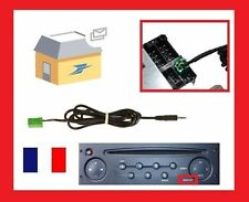 Cable adaptateur mp3 autoradio RENAULT UDAPTE LIST 6 pin, megane 2 scenic 2 aux