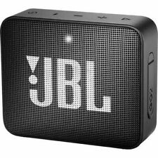JBL GO 2 Portable Bluetooth Waterproof Speaker Black (JBLGO2BLKAM)
