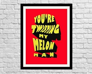 You're Twisting My Melon Man, Happy Mondays Music Wall decor print, Madchester