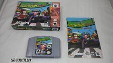South Park RALLY (Nintendo 64 2000) COMPLETE IN BOX! N64 CIB!! Racing