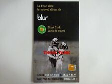 BLUR  ♦ RARE FRENCH PoS ( PLV ) ♦ THINK TANK