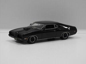 1:43 Ford Landau Coupe Modified (Black) Armco Model Cars No 12