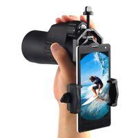 Cell Phone Camera Binocular Adapter Mount Universal For Telescope Spotting Scope