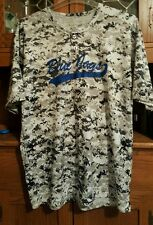 Toronto Blue Jays 2 Button Digital Graphic Print Jersey Shirt Size Large~#20!