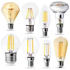 LED FILAMENT LAMPEN E14 E27 Qualität Leuchte Strahler Glühbirne (einige Dimmbar)