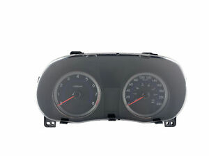 2015-2017 Hyundai Accent Speedometer KPH Instrument Cluster 55K   OEM
