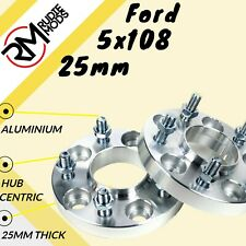 Ford 5x108 25mm Hubcentric wheel spacers 1 pair
