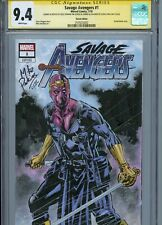 BARON ZEMO Sketch cover art by MIKE PERKINS CGC SS 9.4 Marvel Disney Avengers
