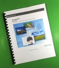 """Sony DSC W630 W650 Camera 163 Page LASER 8.5 x 11"""" Owners Manual Guide"""