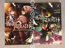 Angels of Death manga volume 1-3 English paperback brand new