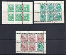 Germany DDR Full Booklet SC# 330c, 333a, 477b - MI MH 3B - 1959/1960 MNH*