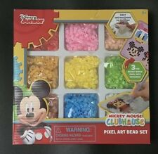 Disney Junior Mickey Mouse Clubhouse Pixel Art Beads Crafts Fusion Set
