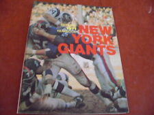 New York Giants 1971 Football Yearbook EX/MINT Tight Spine Fran Tarkenton + $$