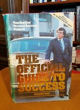 Tom Hopkins THE OFFICIAL GUIDE TO SUCCESS Volume One 1st/3rd 1982 HCDJ SIGNED