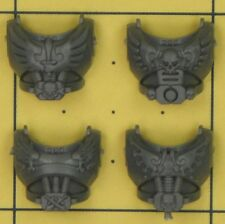 Warhammer 40K Space Marines Dark Angels Ravenwing Command Squad Torso Fronts