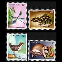 Luxembourg 1987 - Wildlife Conservation Fauna Animals - Sc 763/6 MNH