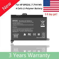 BP02XL Battery For HP Pavilion BP02041XL 849909-850 849569-541-7.7V 41Wh