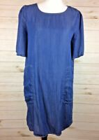 Glam Women's  Short Sleeve Tunic Blouse Dress Sz S