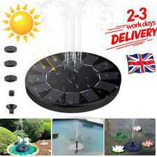 Fountain Solar Power Pump Solar Water Fountain Birdbath Pond Pool Flotaing Pump