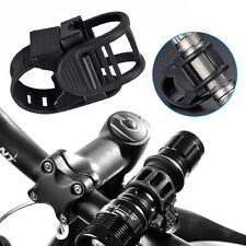360 Degree Adjustable Cycling Mount Bike Clamp Grip Bicycle Torch Light Holder