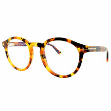 Tom Ford FT5529-B 056 Havana Round Optical Frames Eyeglasses