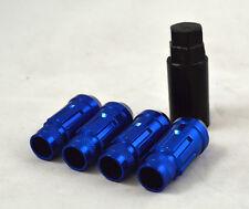 NNR LUG NUT LOCK SET STEEL BLUE WITH KEY FOR HONDA/ACURA 12X1.5 NNR-LN-WLS1215BL