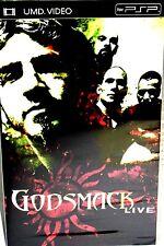 GODSMACK LIVE ,UMD VIDEO, NEW! FREE SHIP! PSP,CONCERT WIDESCREEN,ALL REGION