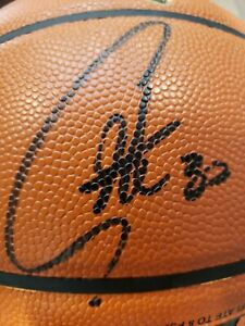 🔥Stephen Curry Signed NBA FINALS LE Basketball Steiner COA🔥