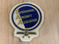New Vintage EAA EXPERIMENTAL AIRCRAFT ASSOCIATION Aviation Airplane Patch