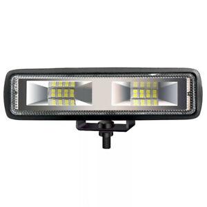 "Car ATV LED48W  6"" Work Light Bar Spot 4WD Offroad Fog  Driving Lamp Bulbs 6000K"