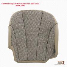 2001 2002 GMC Sierra 2500 2500HD PASSENGER Bottom Cloth Seat Cover Neutral Tan