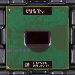 Intel Pentium M 765 SL7V3 CPU Processor 400 MHz 2.1 GHz