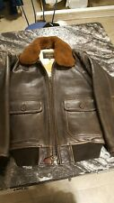 Schott G-1 Leather Jacket M Wings Of Gold