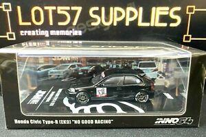 """2021 Release INNO64 Honda Civic Type-R EK9 """"NO GOOD RACING"""" JDM IN64-EK9-JDM10"""