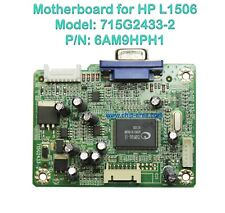Mainboard 715G2433-2  For Monitor LCD HP L1506 p/n 6AM9HPH1 VGA PX848A