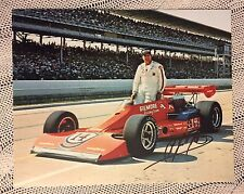 A J Foyt Signed 8 X 10 Indianapolis 500 Photo Autographed Indy Car Racing