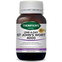 THOMPSON'S ONE A DAY ST JOHN'S WORT 4000 60 TABLETS STRESS RELIEF JOHNS