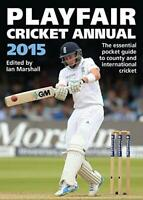 Playfair Cricket Annual 2015 by Marshall, Ian, Good Used Book (Paperback) FREE &