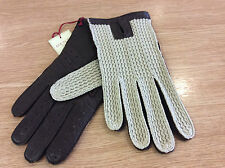 Dents Mens Brown Leather Driving Gloves NEW