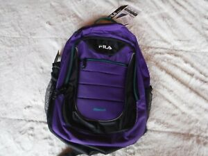 Womens Purple Fila Back Pack Fila Tech Back Pack New With The TAgs
