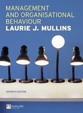 Management and Organisational Behaviour By Laurie Mullins. 9780273688761
