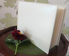 WEDDING SPECIAL OCCASION PLAIN IVORY VISITOR GUEST BOOK