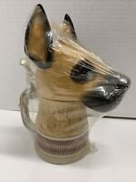 Great Dane Beer Stein Domex Canine Pedigree Series Fawn Dog Ceramic Numbered 9.5