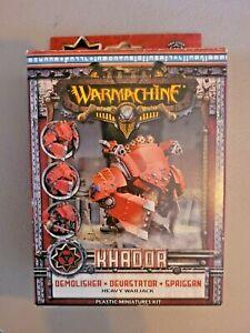 Warmachine - Khador: DEMOLISHER DEVASTATOR SPRIGGAN Heavy Warjack - New in Box
