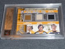 11-12 ITG Ultimate Lord Stanley's Mug Esposito Cheevers Bucyk Jersey Pad 16/24