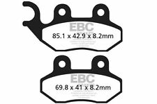 FIT PGO  G-Max 50 (Wave disc) 08>12 EBC FRONT ORGANIC BRAKE PADS