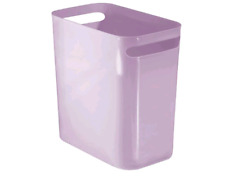 Ultra thin plastic rectangular large trash can waste paper trash can container