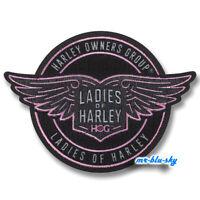 Ladies of Harley L.O.H. Circle Patch ~ Harley Davidson Owners Group HOG  H.O.G.