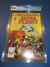 Alpha Flight #1 Bronze age 1st issue Key CGC 9.6 NM+ Beauty Wow 1st Puck
